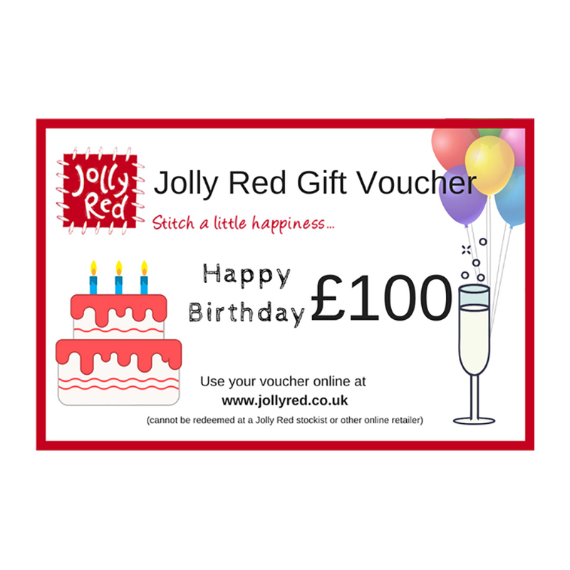 Happy Birthday £100 Gift Voucher