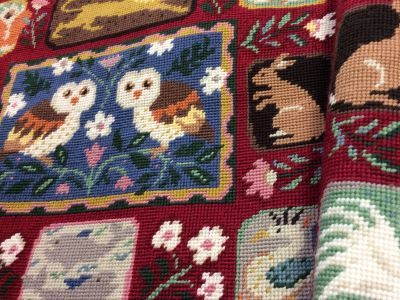 Fabric for Arts & Crafts Owls