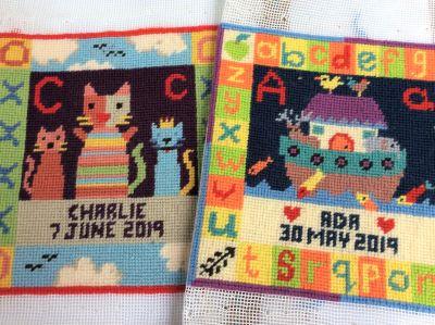 A-Z Animals tapestry kits