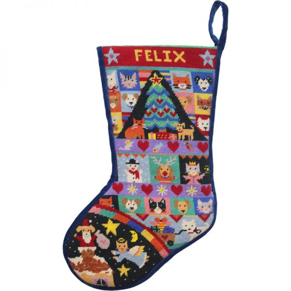 Cats and Dogs Stocking