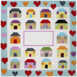 Celebration Houses and Hearts