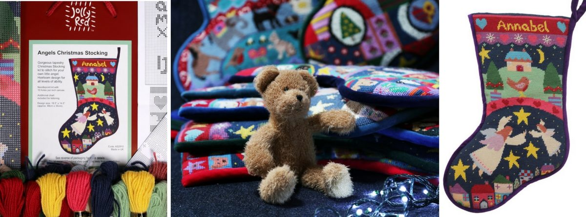 Christmas Teddy Slider