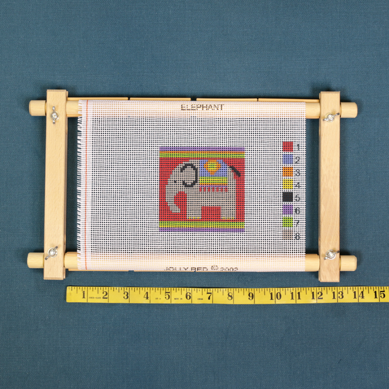 CF129 12″ Tapestry Clip Frame | Jolly Red