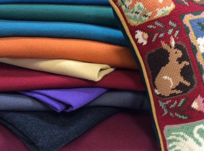 Woolly fabric for your tapestry