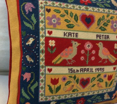 Tapestry for a handmade wedding