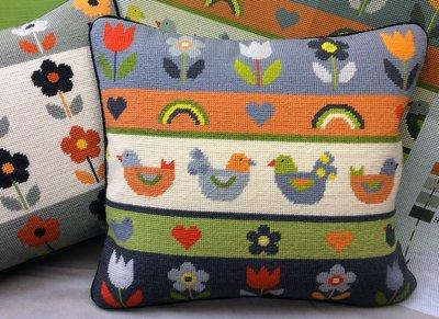 New! Ba-Ba-Birds tapestry