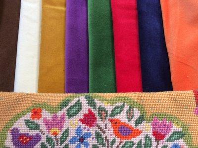 Velvet for your tapestry