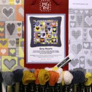 Kit C - Grey Hearts