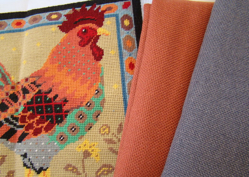 Fabrics for Old English Cockerel