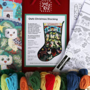 Owl Christmas Stocking KitC