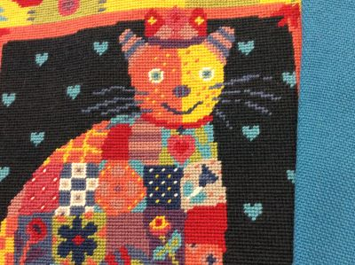 Fabric for Patchwork Cat