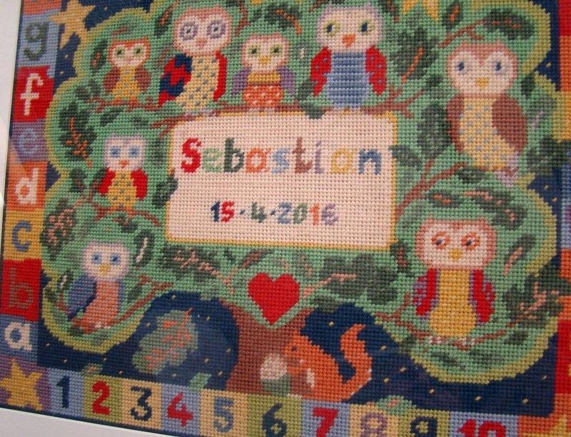 Sebastian Alphabet Owls