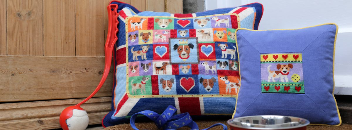 Tapestry to stitch for friends, family - and pets!